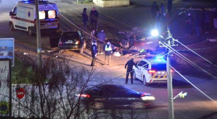 Страшное ДТП произошло в Новомосковске (фото-видео)