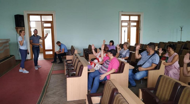 Сьогодні відбулось засідання конкурсної комісії з питань проведення конкурсу «Кращий двір, кращий балкон, краща територія закладу освіти в м. Новомосковськ»