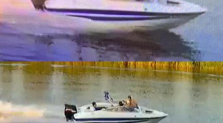 SOS!Нужна помощь в поиске неизвестных личностей которые 08.08.2020 на данном катере совершили наезд на другой катер в районе Новомосковска!