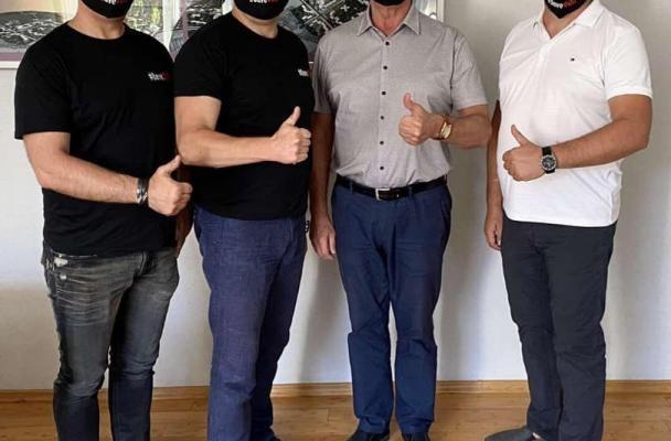 Актив руху #SaveФОП-Днепр встречался с мэром Новомосковска Виктором Литвищенко