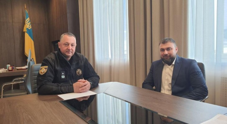 Новомосковська влада отримала підтримку від обласної поліції