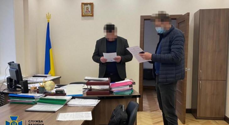 Вчера Служба безопасности Украины решила прикрыть схематоз в Госгеокадастре