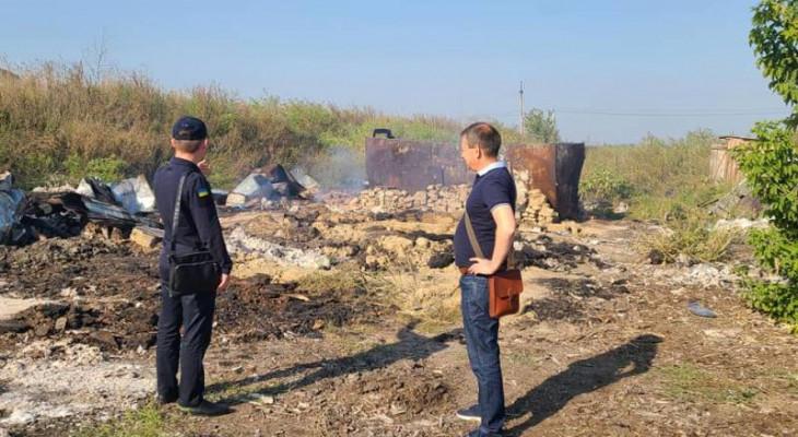 У Новомосковську «псевдопідприємство»  з переробки деревини припинило свою діяльність.