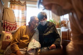 Немного наглядных фото из ковидных отделений Украины от МОЗ